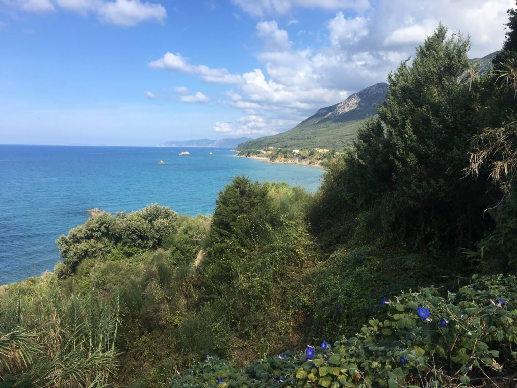 Corfu Hiking Trail in Greece