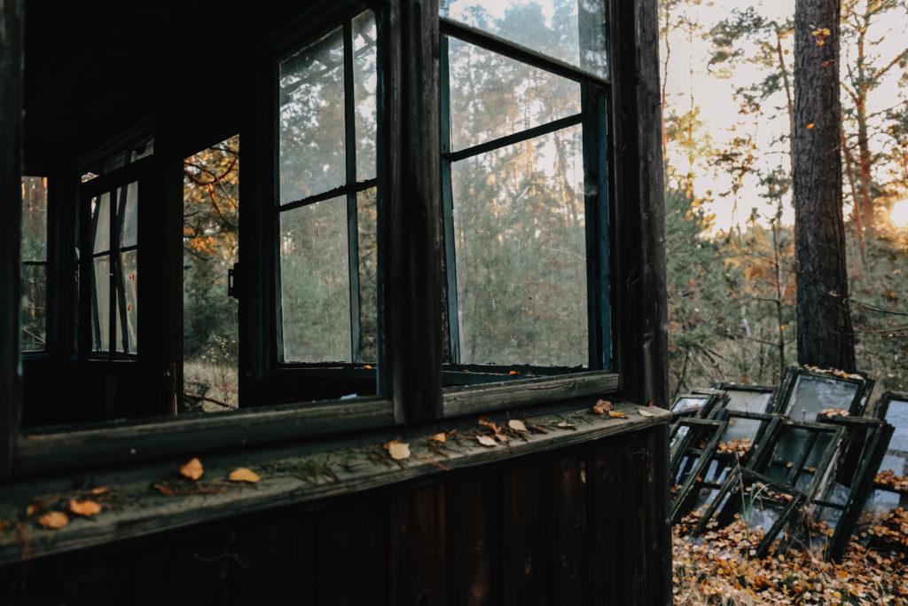 Ruinen der Garnison Vogelsang