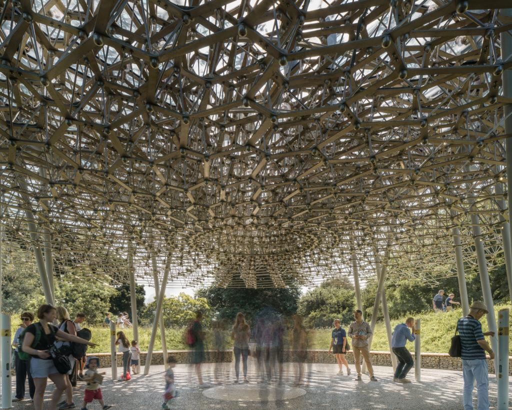 HIVE in Kew Gardens von innen