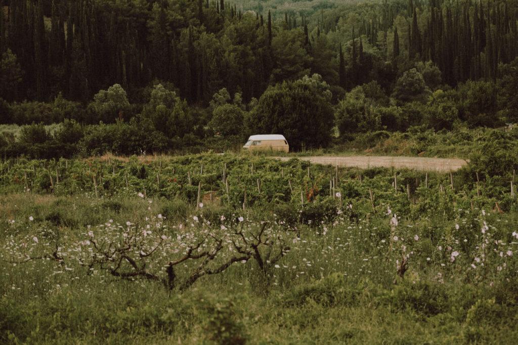 Van in Montenegro