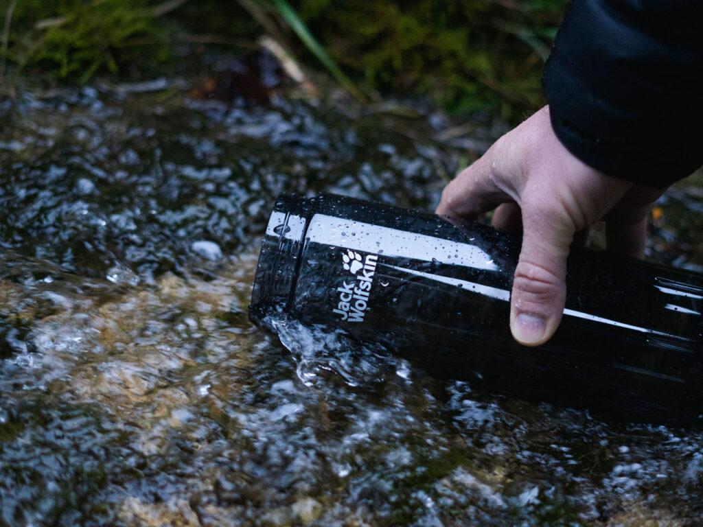 eco friendly Jack Wolfskin water flask