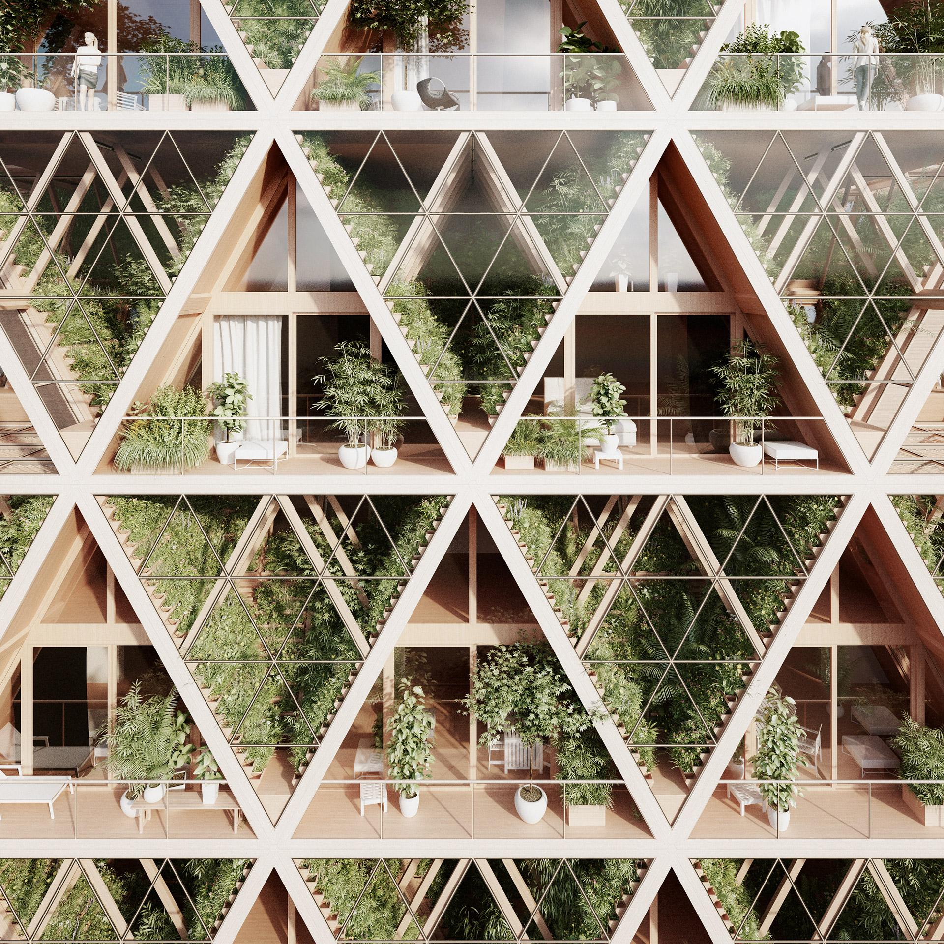 Verticle Garden complex