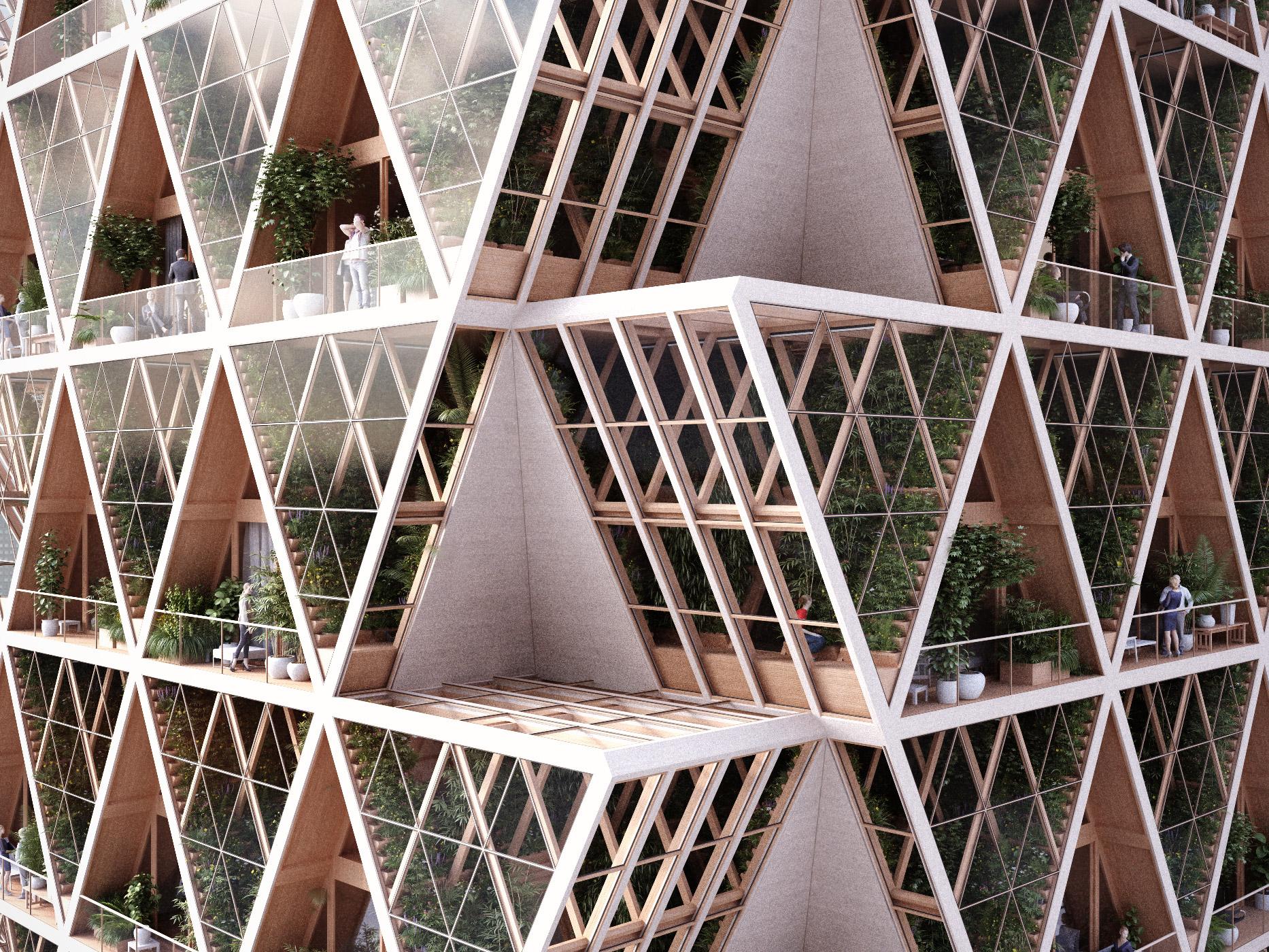 Verticle Garden outside
