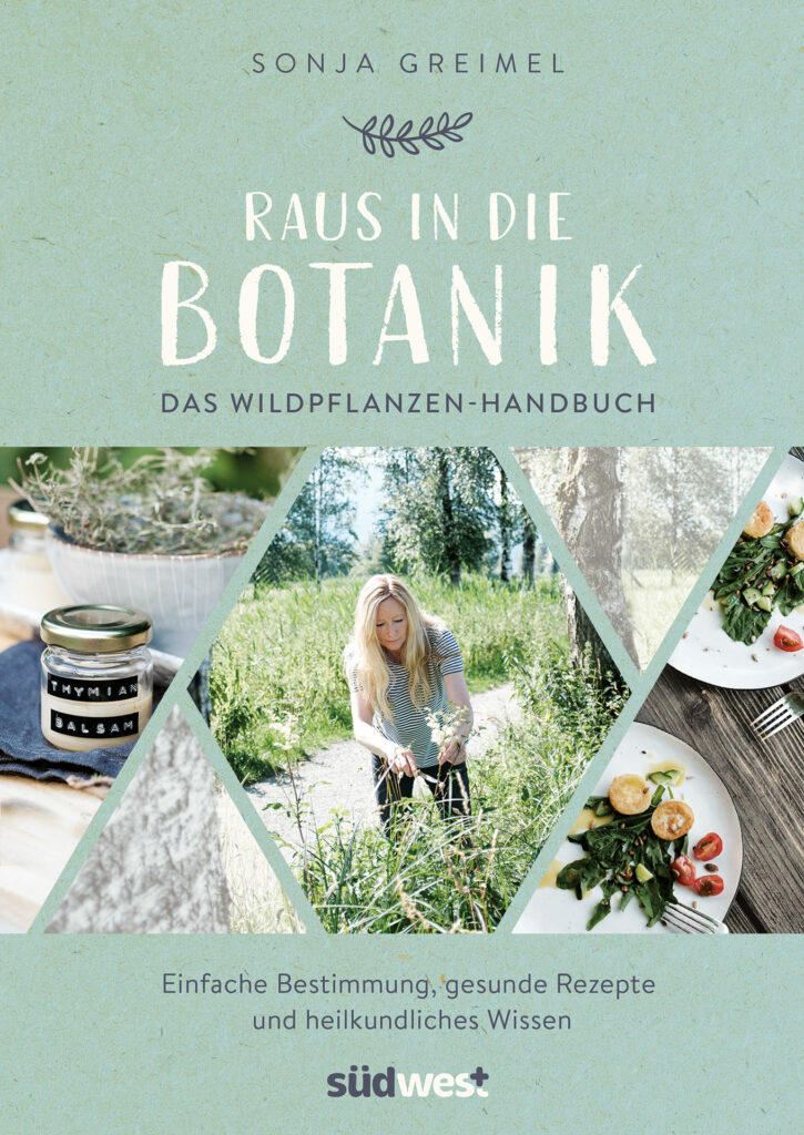 Sonja Greimel's self reliance book of edible plants in nature