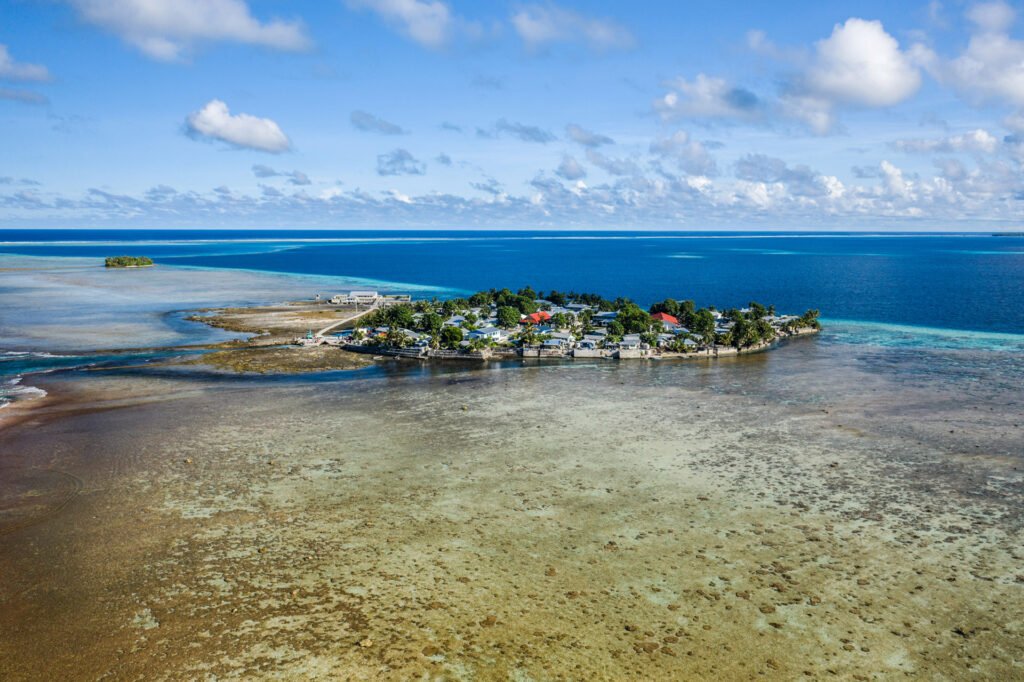 Flooding is a constant threat on Tokelau